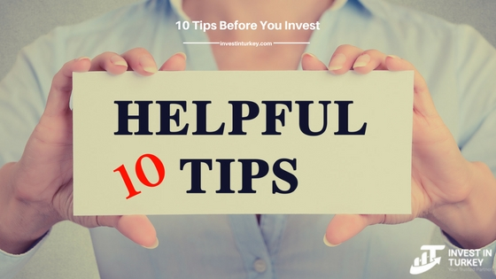 10 Tips before you make investment