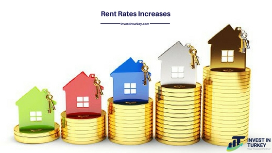 The Rate of Rents Rise Up